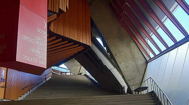 Opera House por Dentro